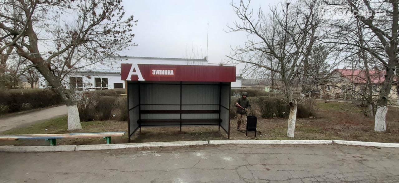 Роза и Нововасильевка с новыми остановочными комплексами, фото-4