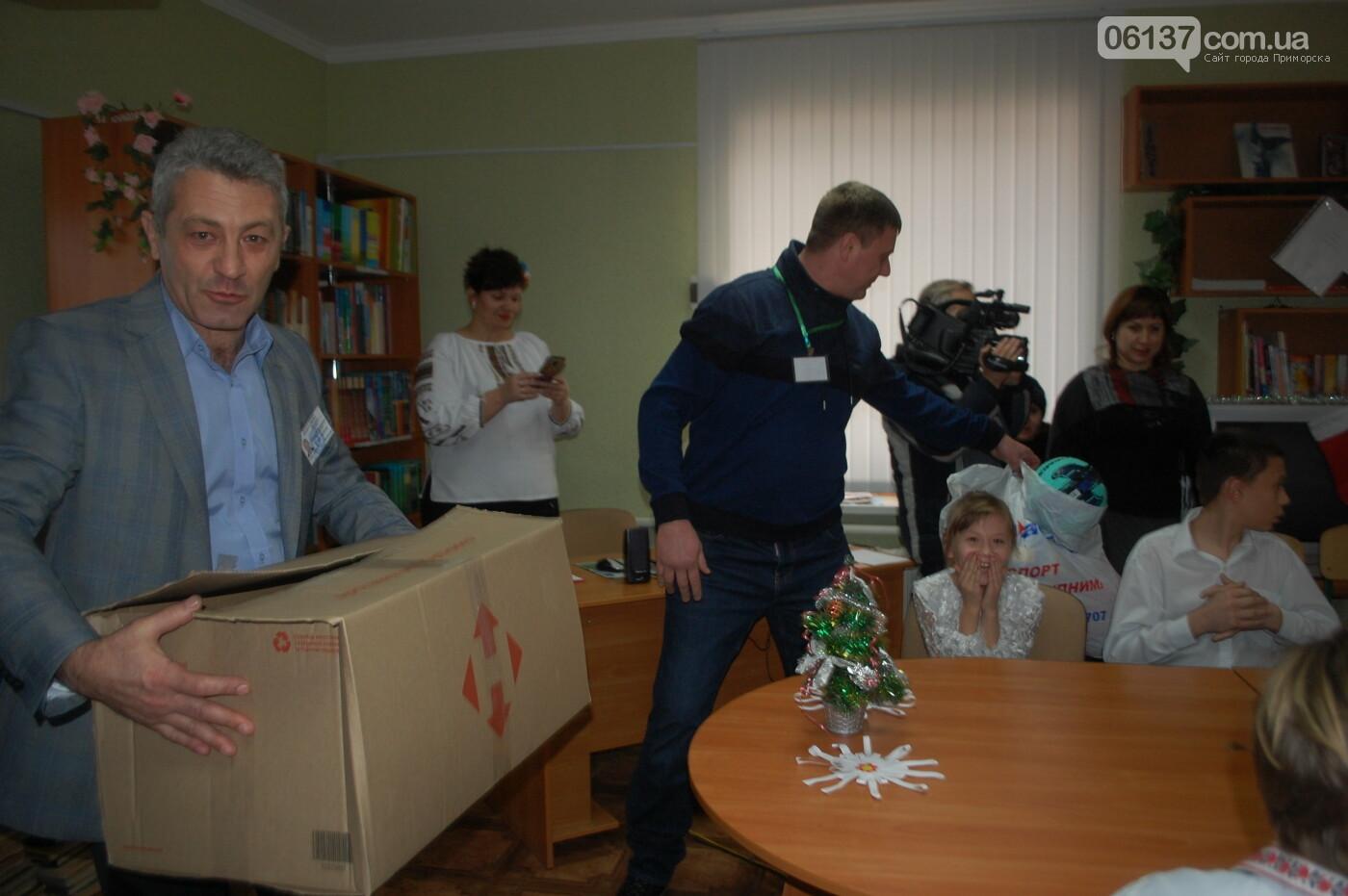 Святой Николай побывал вчера в Преславской специализированной школе-интернате, фото-1