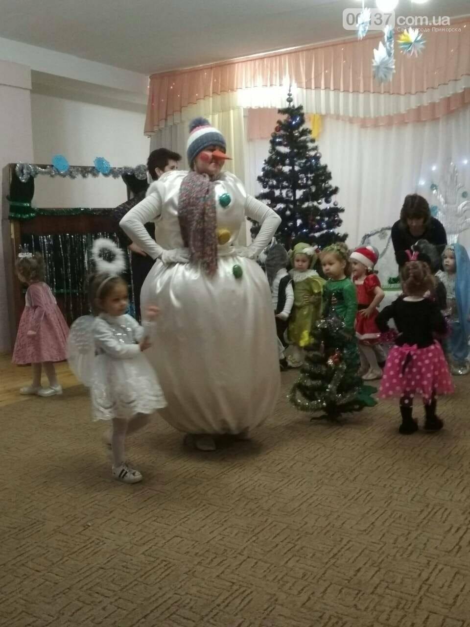 В детских садиках Приморска новогоднее веселье идет полным ходом, фото-2