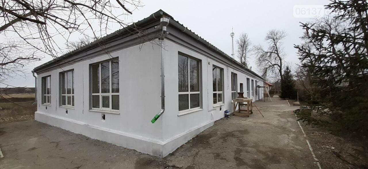 Завершена реконструкция фасадной группы Дома Культуры в поселке Роза, фото-1
