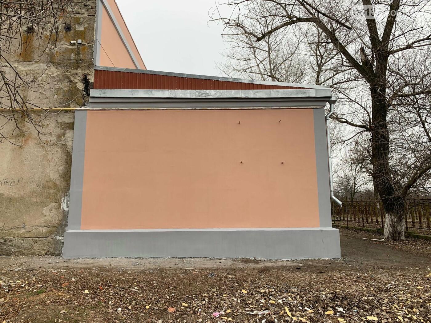 Завершена реконструкция фасадной группы Дома Культуры в поселке Роза, фото-3