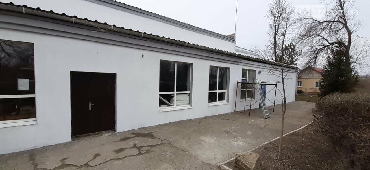 Завершена реконструкция фасадной группы Дома Культуры в поселке Роза, фото-19