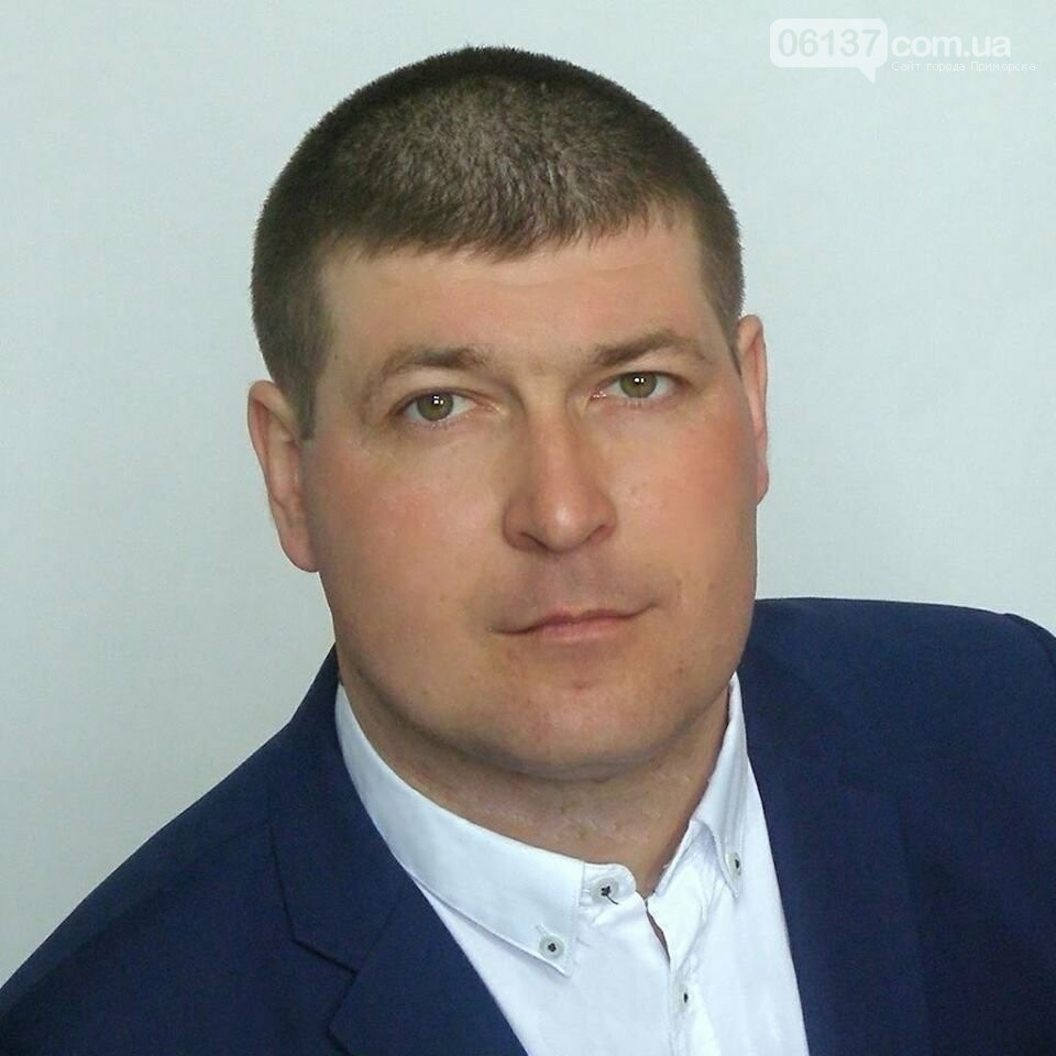 Поздравление с Новым годом депутата Приморской ОТГ Андрея Розумного, фото-1