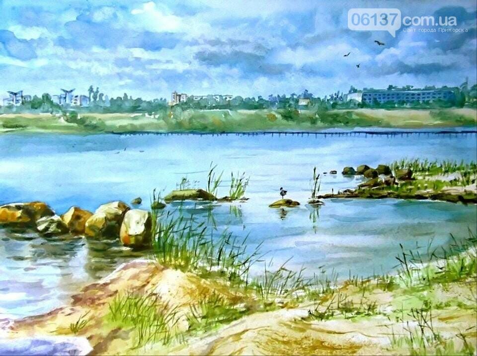 Улюблений Приморськ в  акварелях Валентини Візирської, фото-2