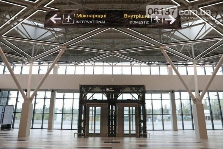 В Запорожье завершили строительство нового терминала аэропорта. Фото, фото-1