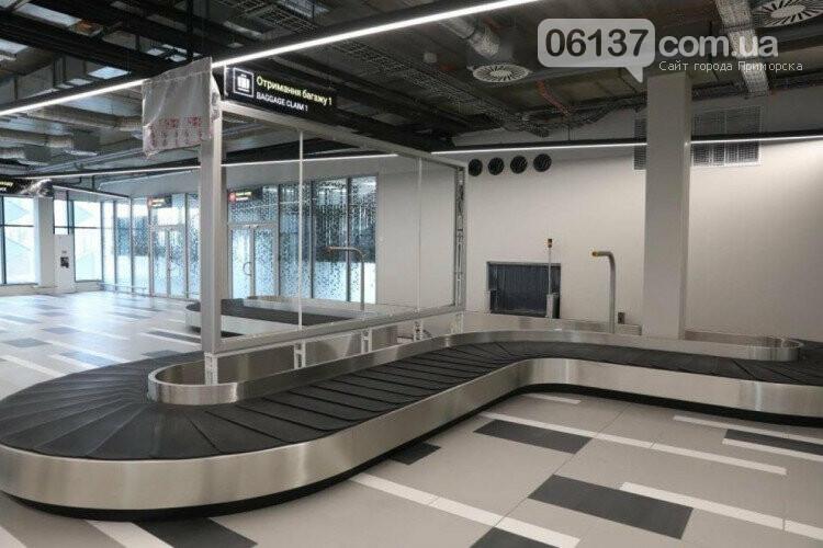 В Запорожье завершили строительство нового терминала аэропорта. Фото, фото-2
