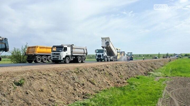 119 км трасси Н-30 Василівка Токмак Бердянськ вже відремонтовано, фото-4