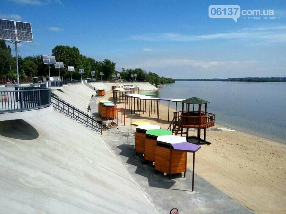 В Запорожье завершили реконструкцию Правобережного пляжа: чего не хватает для открытия. Фото , фото-3