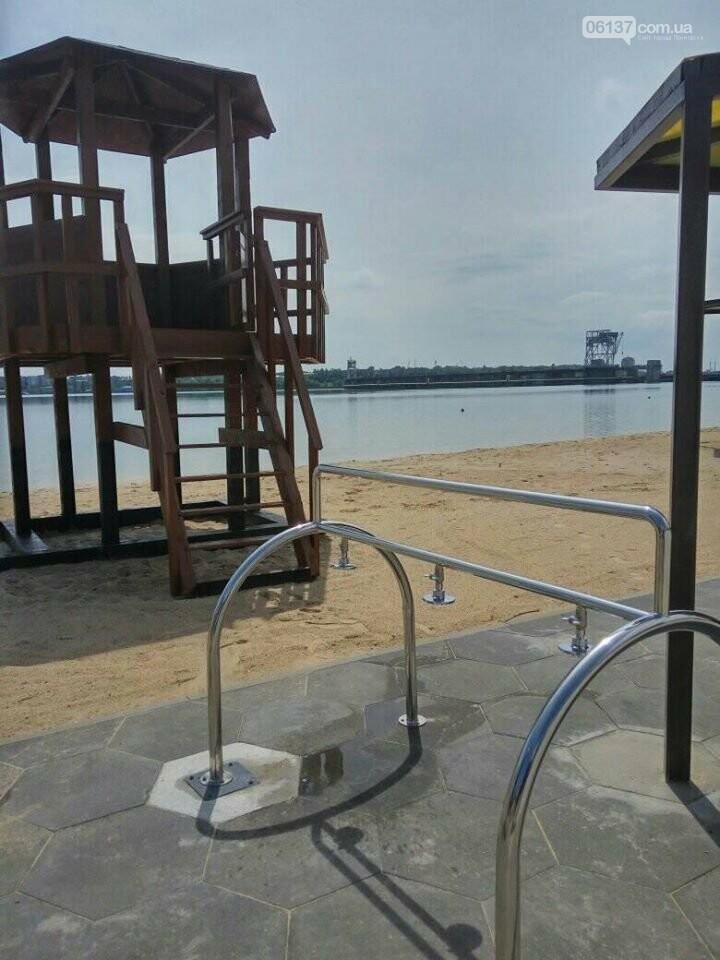 В Запорожье завершили реконструкцию Правобережного пляжа: чего не хватает для открытия. Фото , фото-4