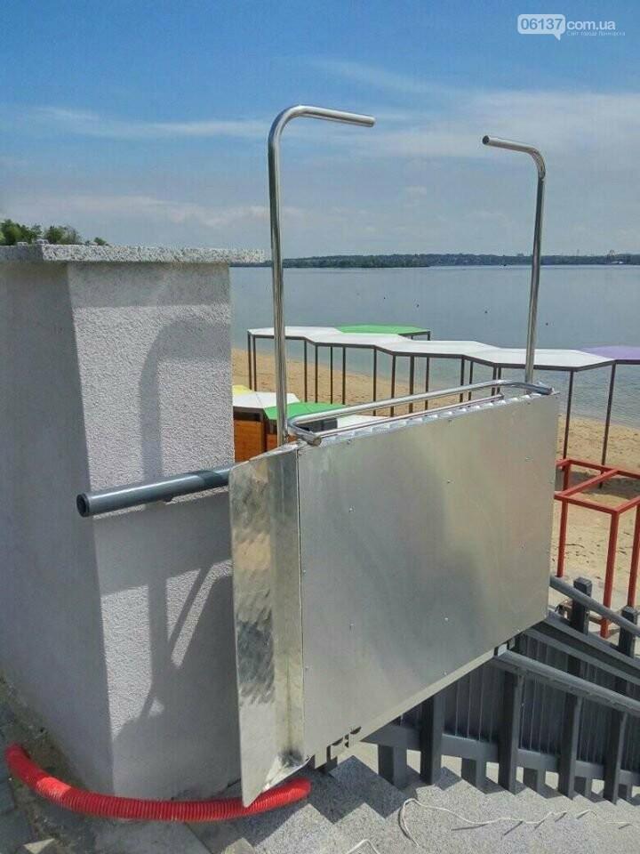 В Запорожье завершили реконструкцию Правобережного пляжа: чего не хватает для открытия. Фото , фото-6