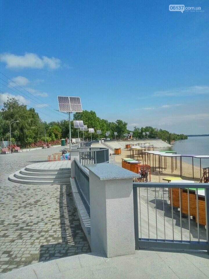 В Запорожье завершили реконструкцию Правобережного пляжа: чего не хватает для открытия. Фото , фото-8