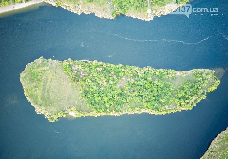 Запорожский фотограф показал живописность природных оазисов города с высоты. Фото , фото-4