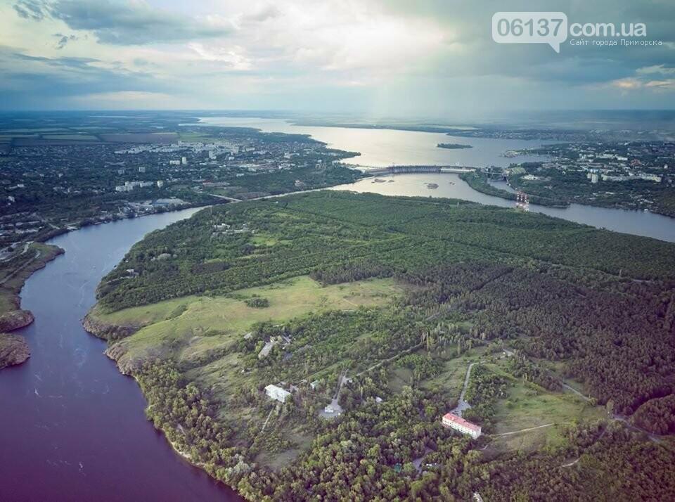 Запорожский фотограф показал живописность природных оазисов города с высоты. Фото , фото-5