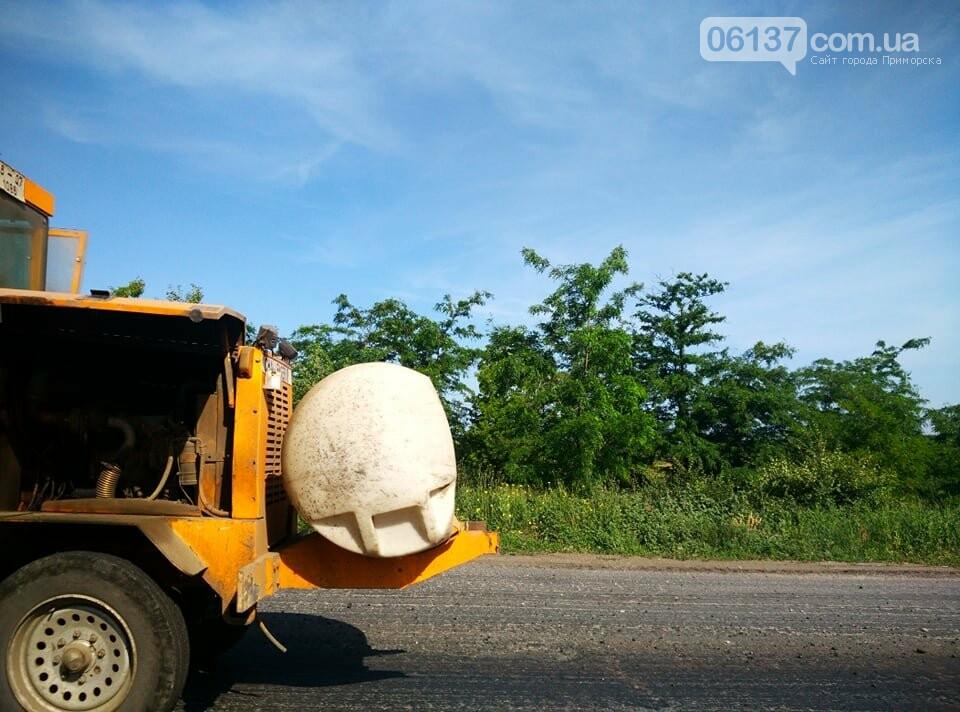 Пробки из-за ремонта на трассе Запорожской области: что происходит сегодня. Фото, фото-6