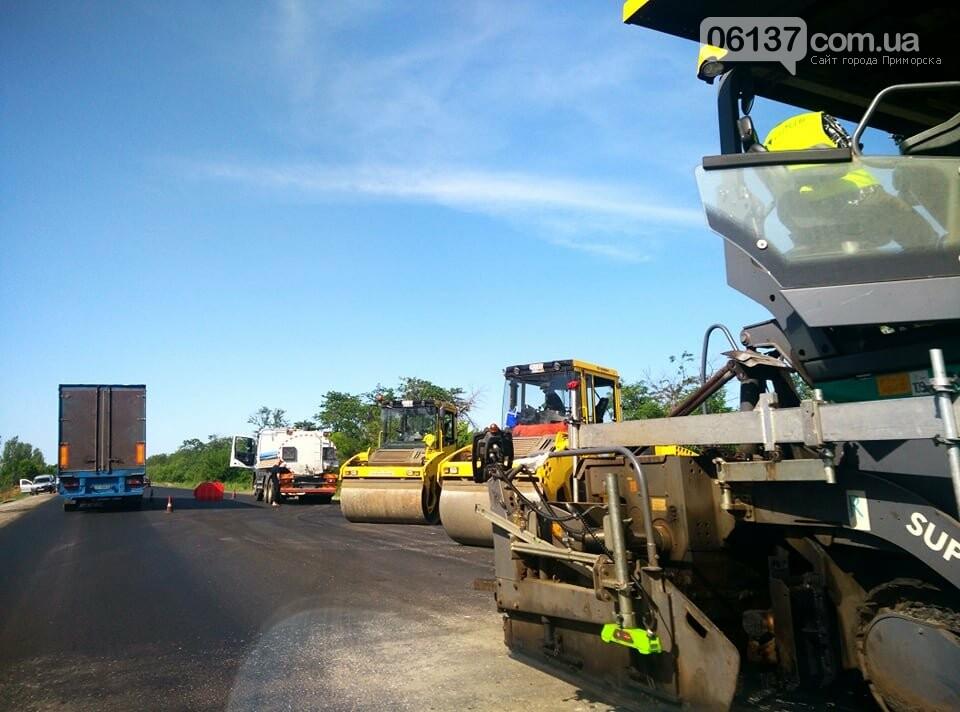 Пробки из-за ремонта на трассе Запорожской области: что происходит сегодня. Фото, фото-4
