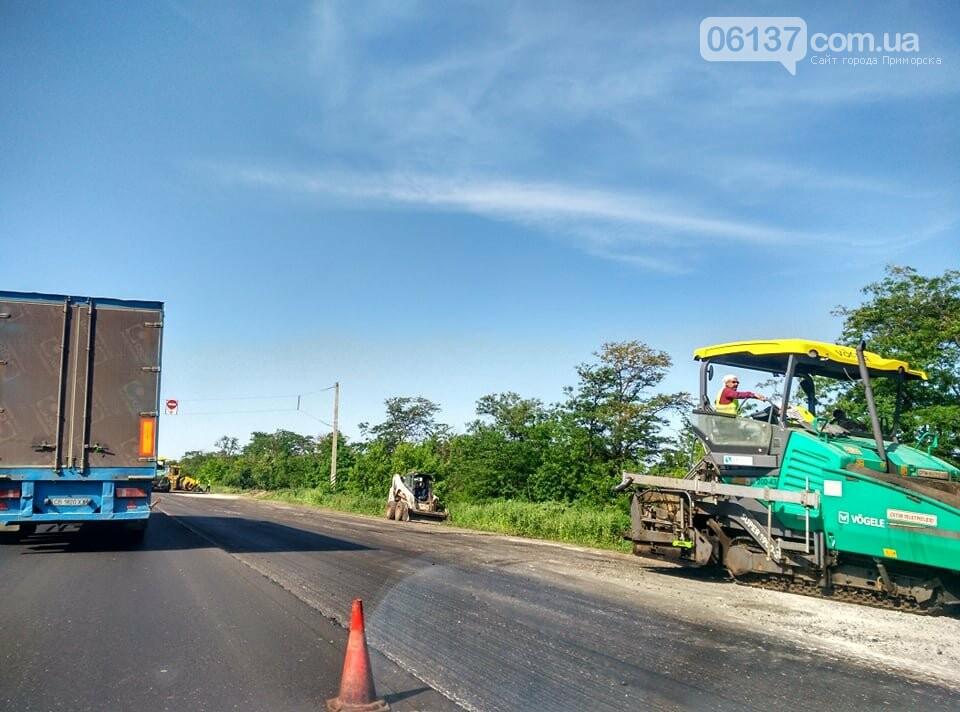 Пробки из-за ремонта на трассе Запорожской области: что происходит сегодня. Фото, фото-5