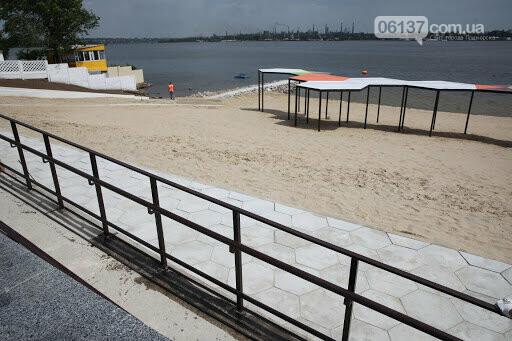 Запорожцы критикуют новый пляж, в который вложили 41 млн грн. Видео, фото-1