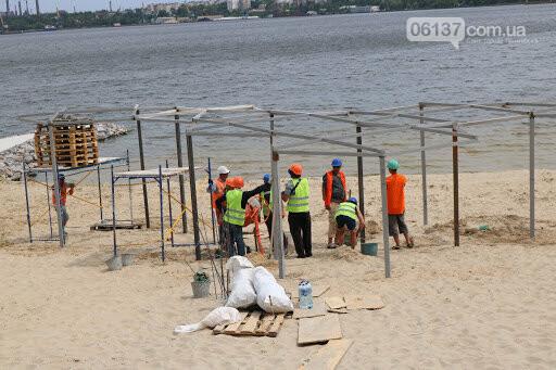 Запорожцы критикуют новый пляж, в который вложили 41 млн грн. Видео, фото-2