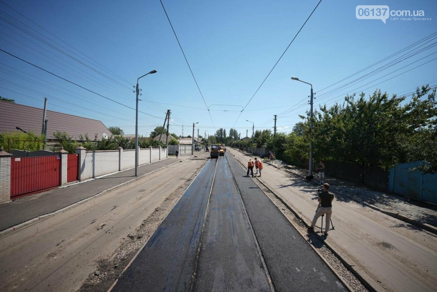 Запорожцам обещаю открыть долгожданную дорогу. Фото , фото-1