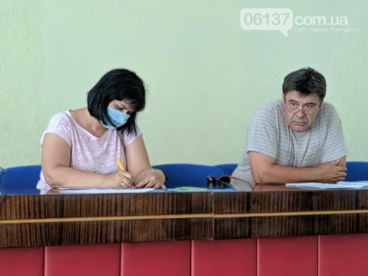 В Приморську провели сесію міської ради, фото-3