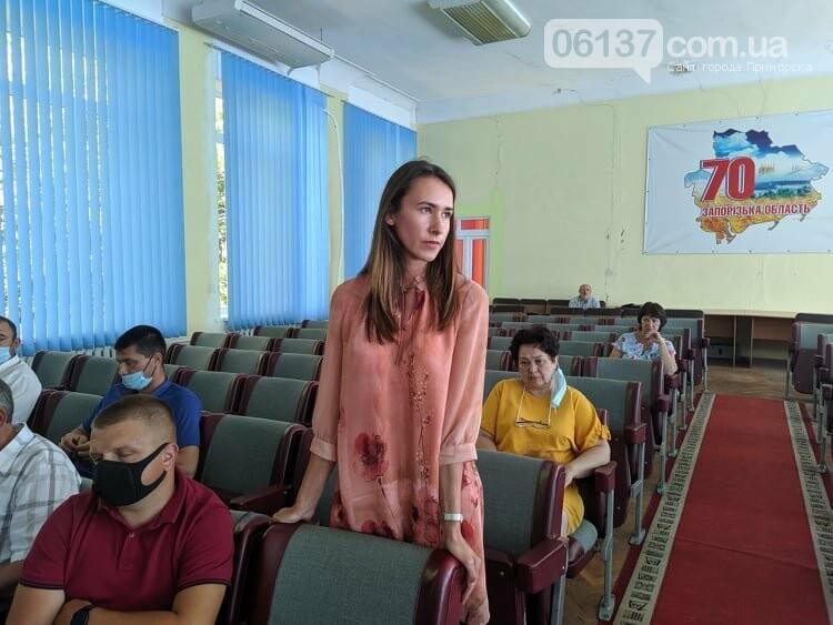 В Приморську провели сесію міської ради, фото-4