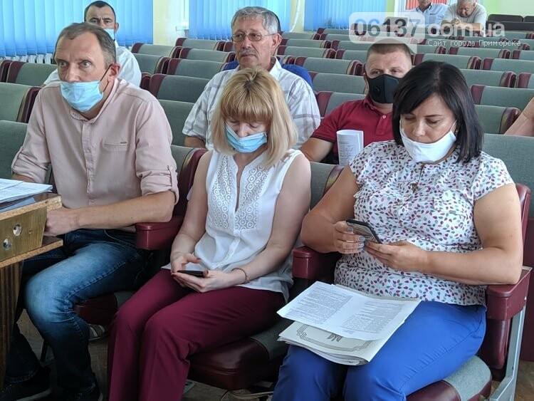 В Приморську провели сесію міської ради, фото-2
