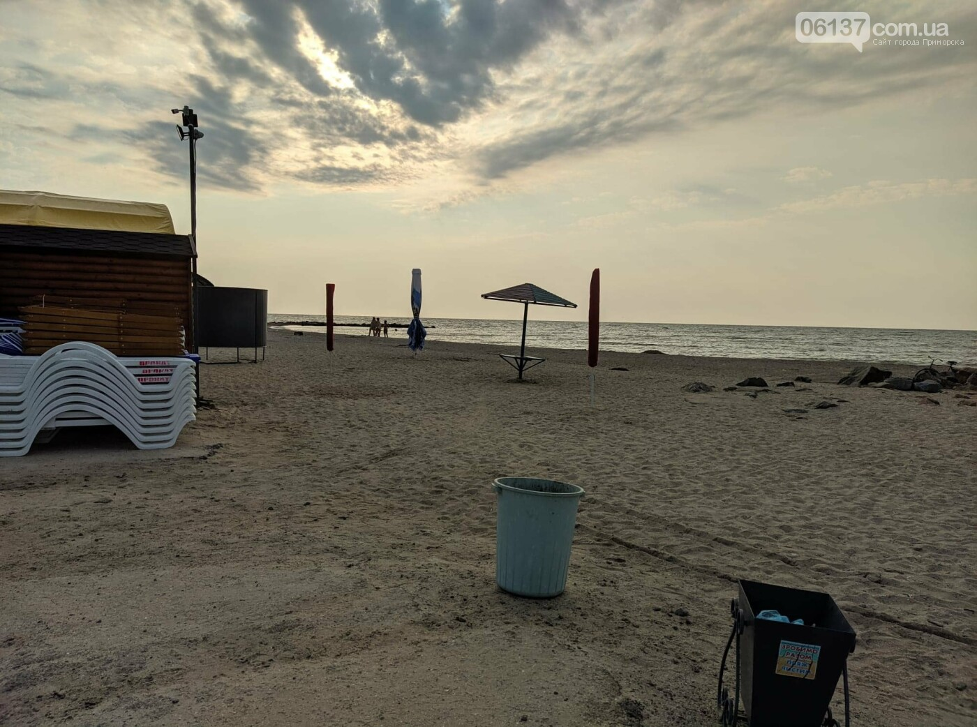 Один из запорожских курортов чист: нет медуз и водорослей. Фото  , фото-1