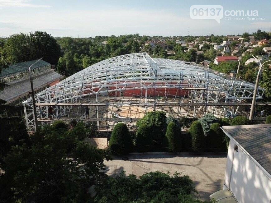 Оранжерея в запорожском ботсаду будет масштабной: что уже сделано. Фото, фото-2