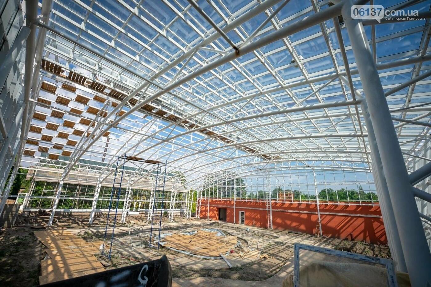 Оранжерея в запорожском ботсаду будет масштабной: что уже сделано. Фото, фото-3