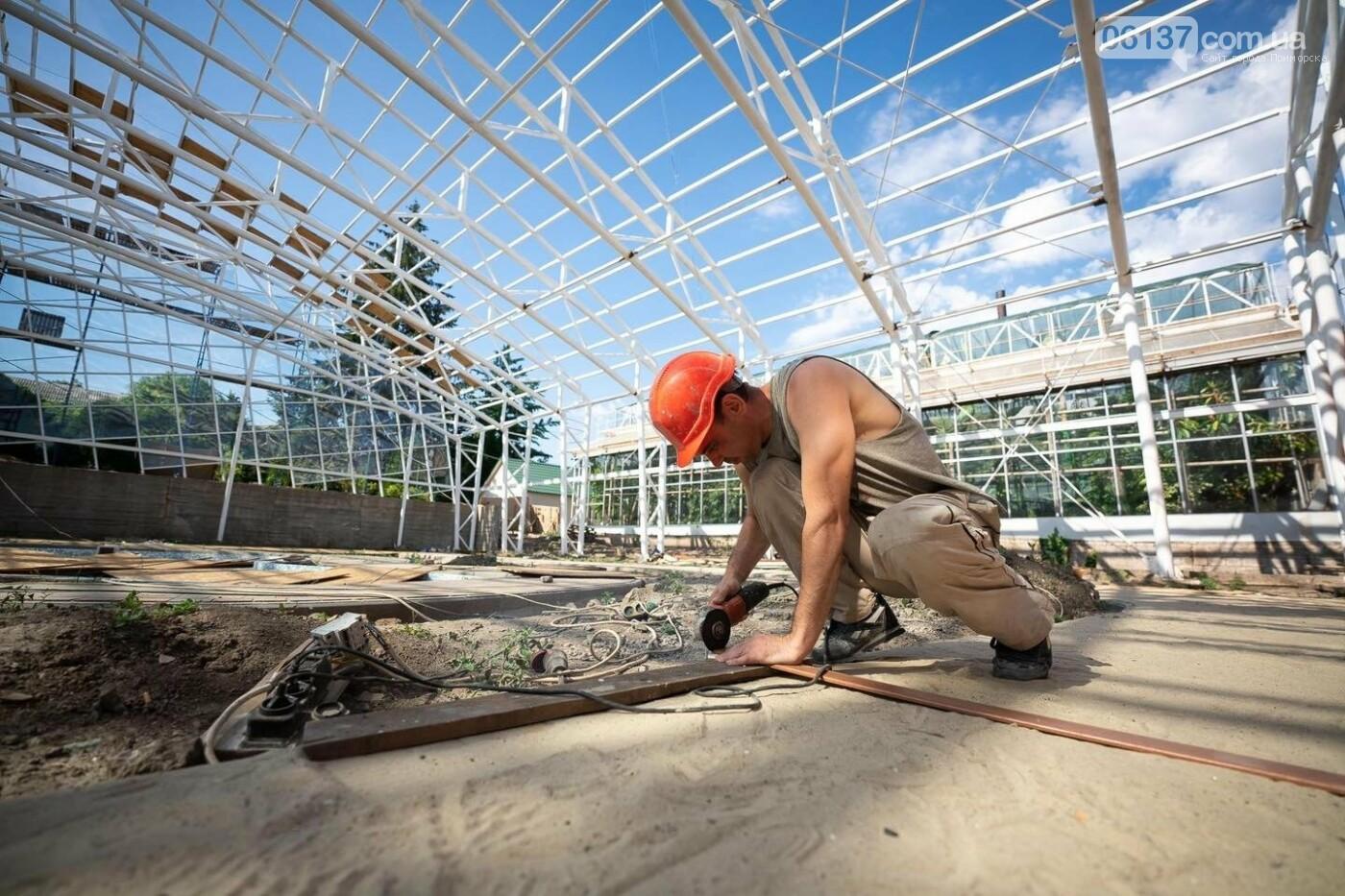 Оранжерея в запорожском ботсаду будет масштабной: что уже сделано. Фото, фото-4
