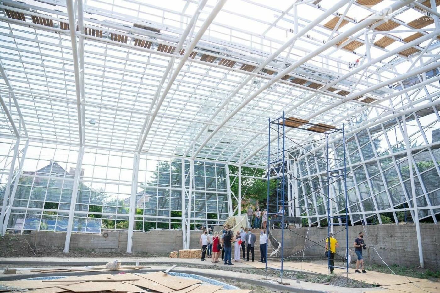 Оранжерея в запорожском ботсаду будет масштабной: что уже сделано. Фото, фото-5