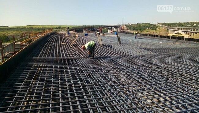 Запорожский мост скоро соединит две части суши. Фото, фото-5