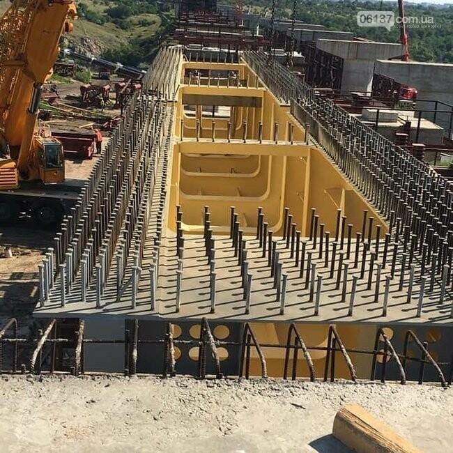 Запорожский мост скоро соединит две части суши. Фото, фото-7