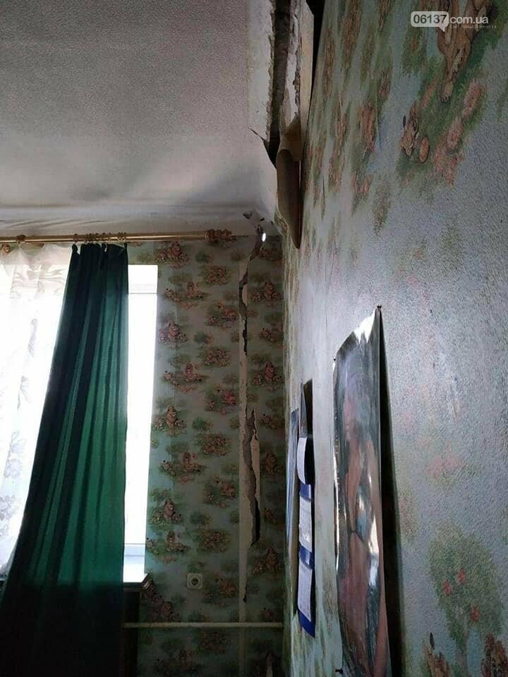 В центре Запорожья трещит по швам исторический дом. В любой момент может произойти фатальное обрушение. Фото, фото-3