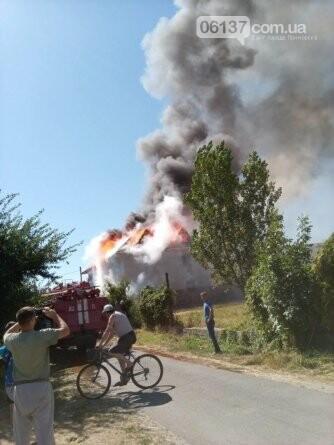 На курорте Запорожской области загорелся отель в котором были отдыхающие, фото-1