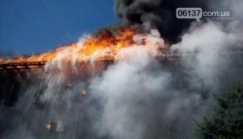 На курорте Запорожской области загорелся отель в котором были отдыхающие, фото-2