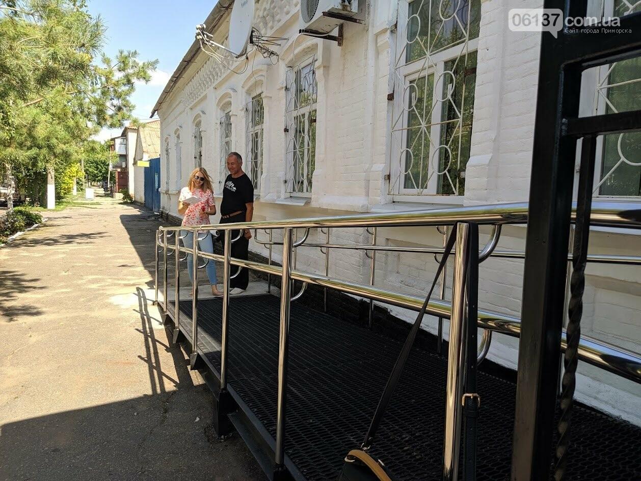 На курорті Запорізької області моніторили доступність візочників  до державних установ , фото-4