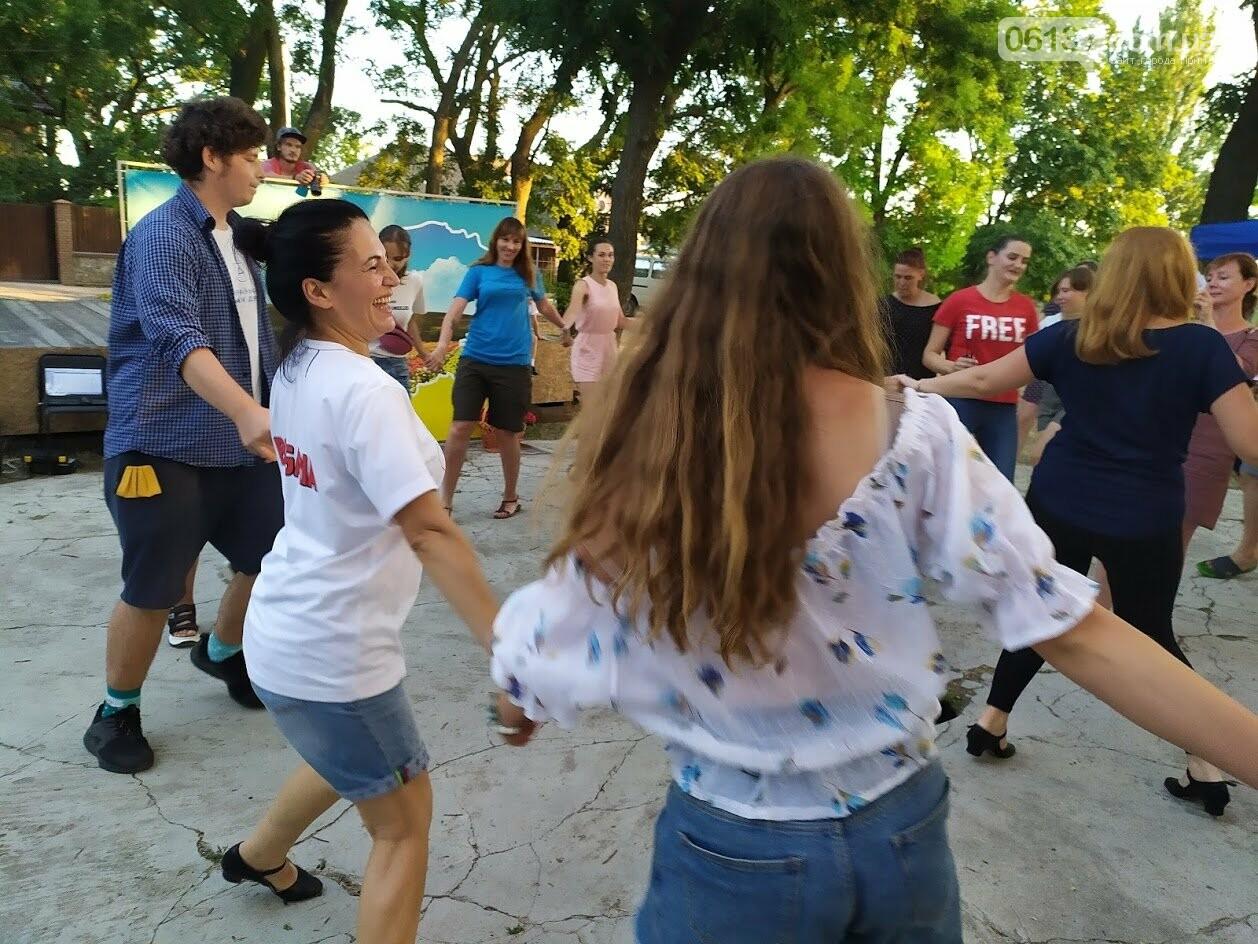 Вчора БУРівці в Приморську вчились танцювати запальне болгарське хоро, фото-2