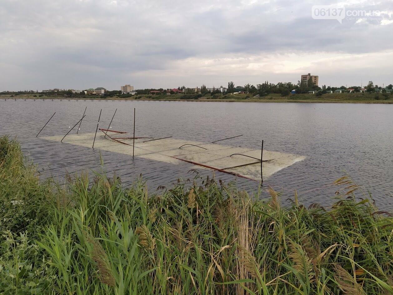Смерч на центральном пляже Приморска Запорожской области. Фото и видео последствий., фото-3