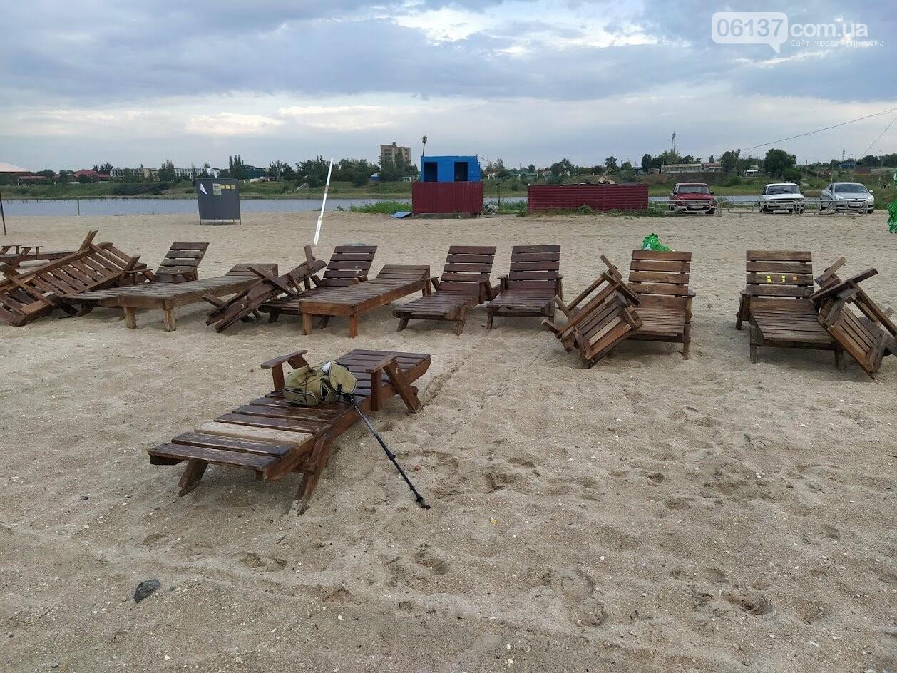 Смерч на центральном пляже Приморска Запорожской области. Фото и видео последствий., фото-2