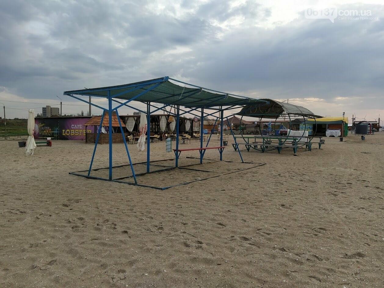 Смерч на центральном пляже Приморска Запорожской области. Фото и видео последствий., фото-4