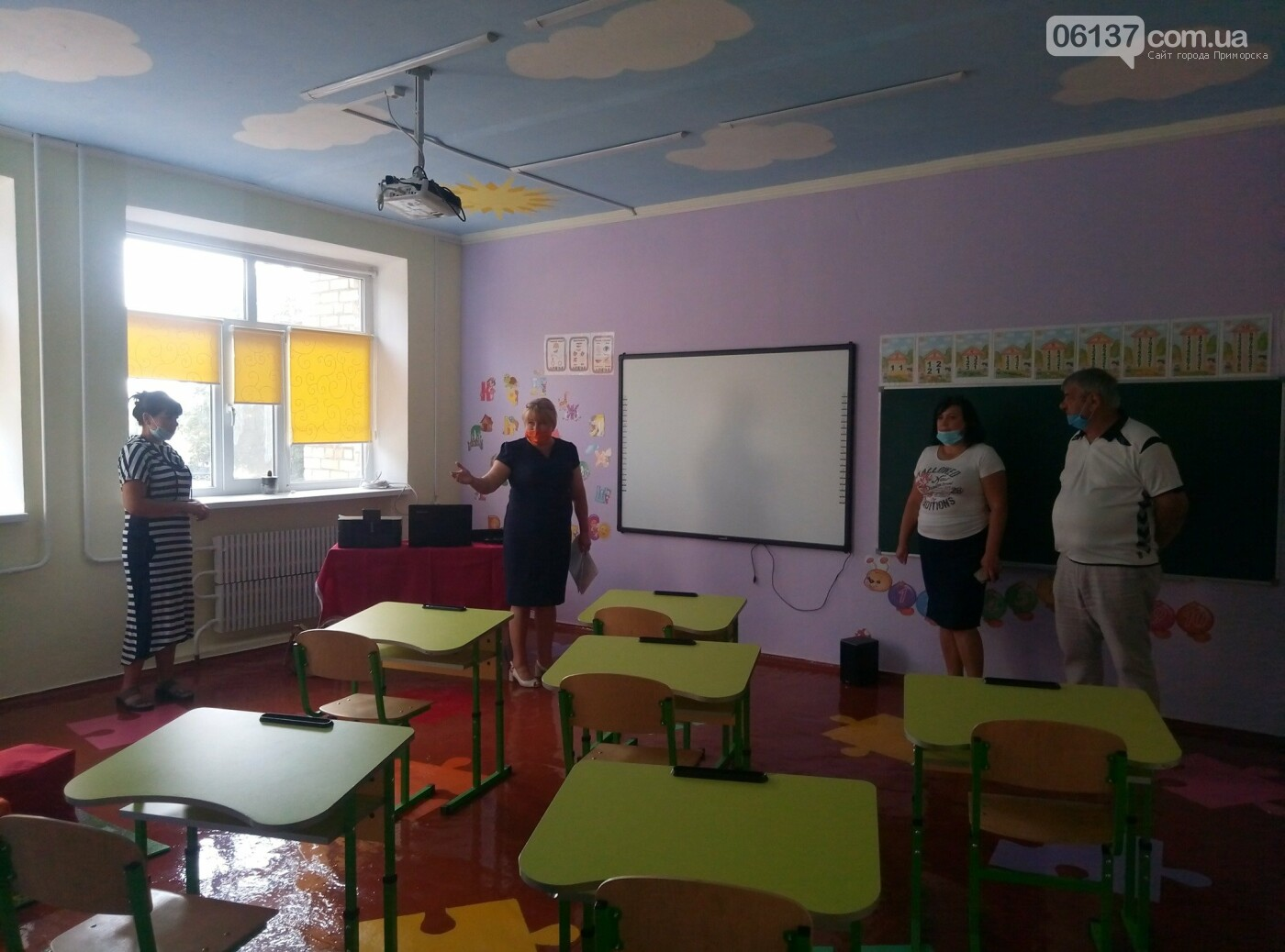 Учбові заклади Приморської та Новоолексіївської ОТГ  до нового учбового року готові, фото-2