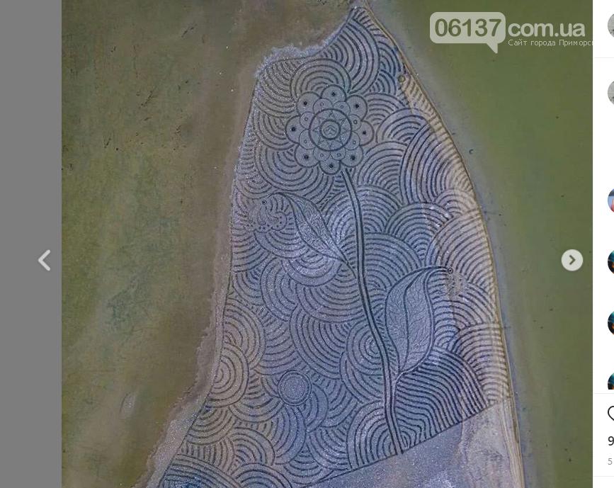На курорте Запорожской области появилась гигантская медуза. Видео, фото-1