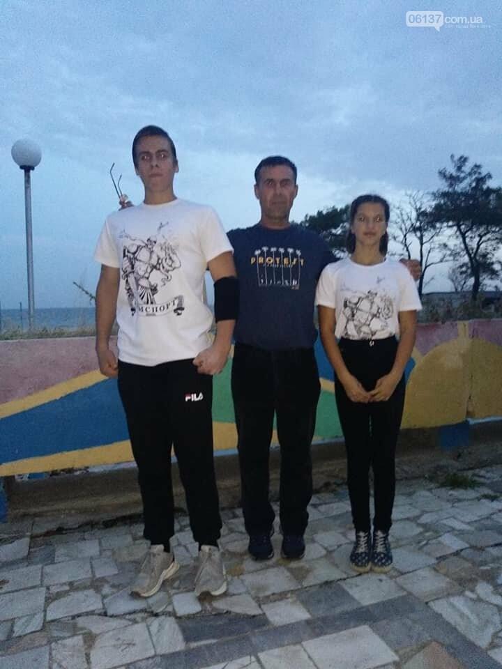 Приморцы успешно выступили на чемпионате Украины среди юниоров и молодежи по арм спотру, фото-1