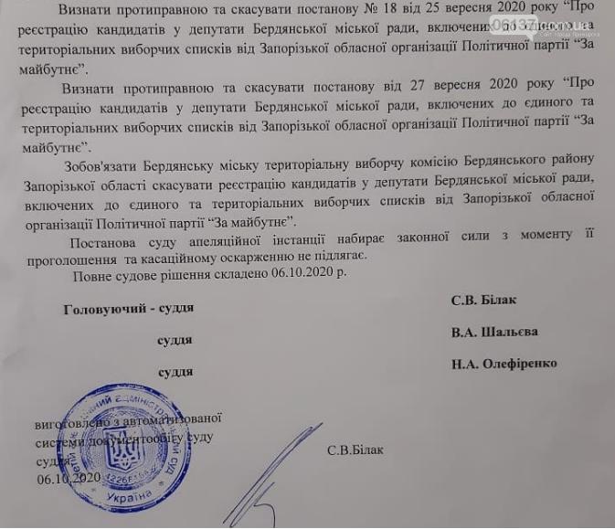 """В Бердянске выборы без """"Майбутнього"""" но зато с тремя клонами, фото-1"""