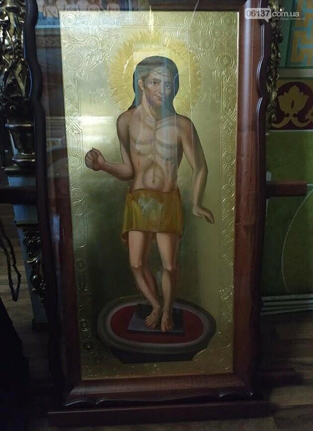 """Свято - Троицкому храму в Приморске подарили хроноскопию чудотворной иконы """"Хлеб Жизни"""", фото-2"""
