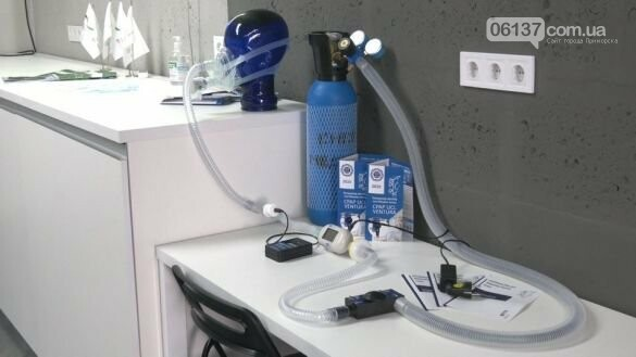 В Харькове создали аналог аппарата искусственной вентиляции легких, фото-1