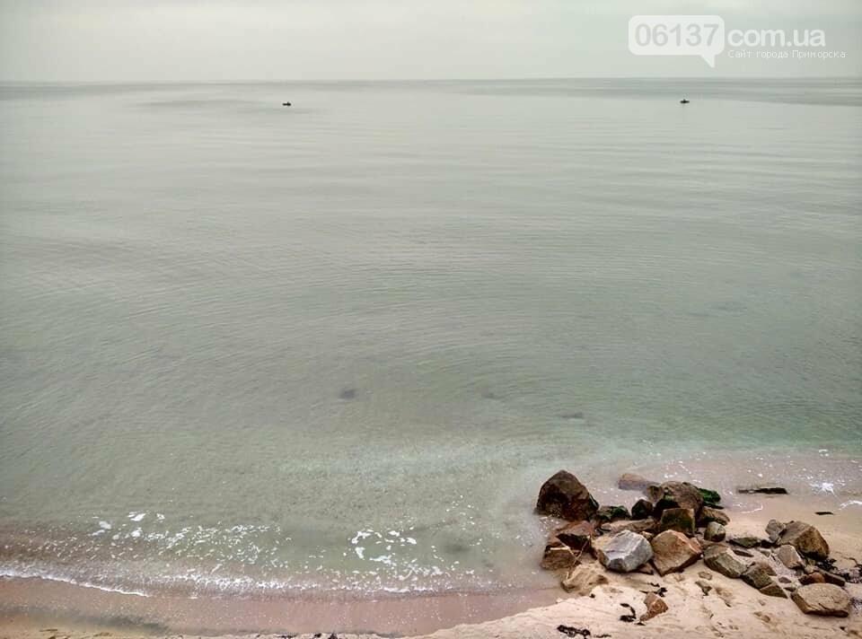 Красота ноябрьского моря в Запорожской области от заката до рассвета. Приморск. Обиточная коса , фото-5