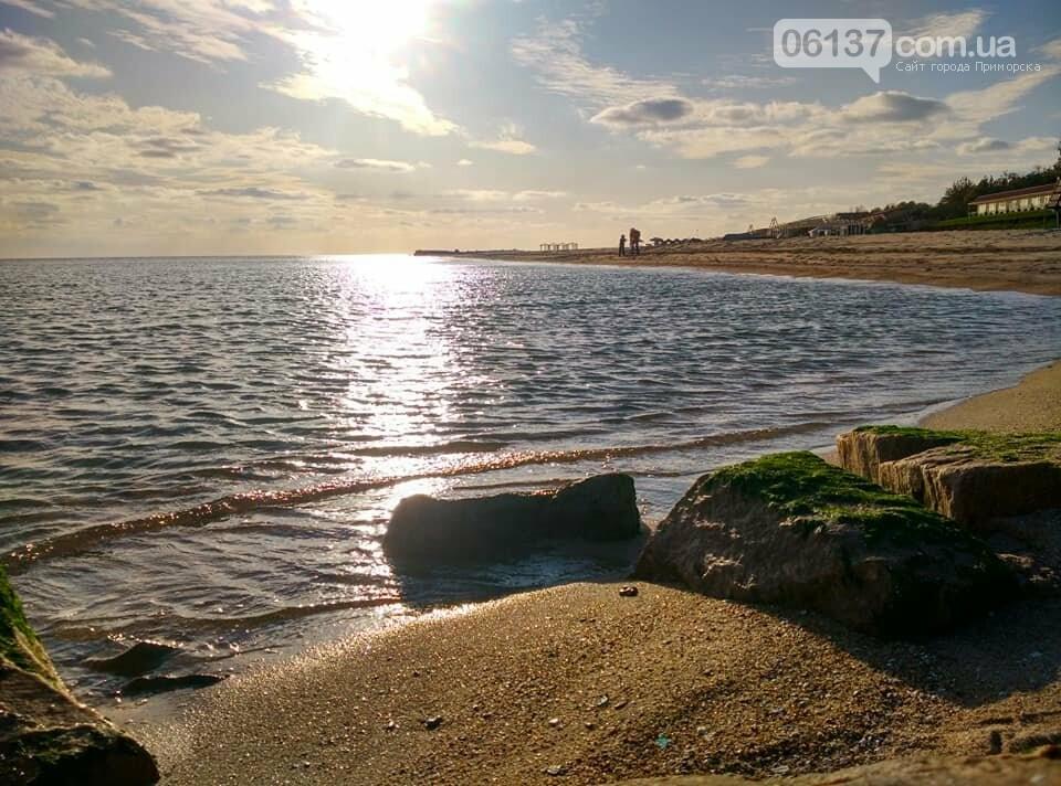 Красота ноябрьского моря в Запорожской области от заката до рассвета. Приморск. Обиточная коса , фото-11