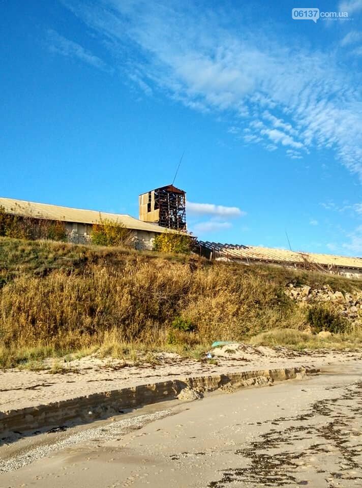 Красота ноябрьского моря в Запорожской области от заката до рассвета. Приморск. Обиточная коса , фото-10